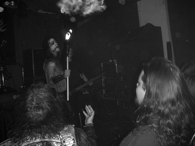 Gig in Café Central/Weinheim on 01-08-2005